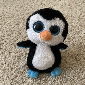 TY Beanie Boo Penguin Waddles